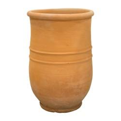Tinaja de cerámica de boca ancha