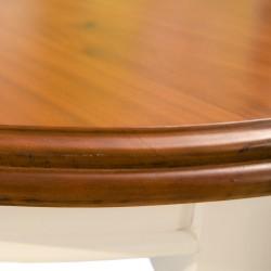 Mesa comedor bicolor