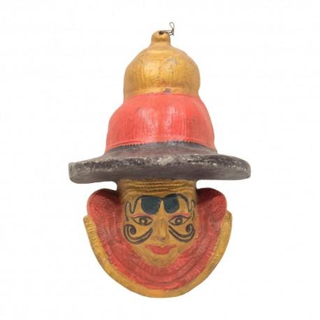 Máscara carnaval cerámica
