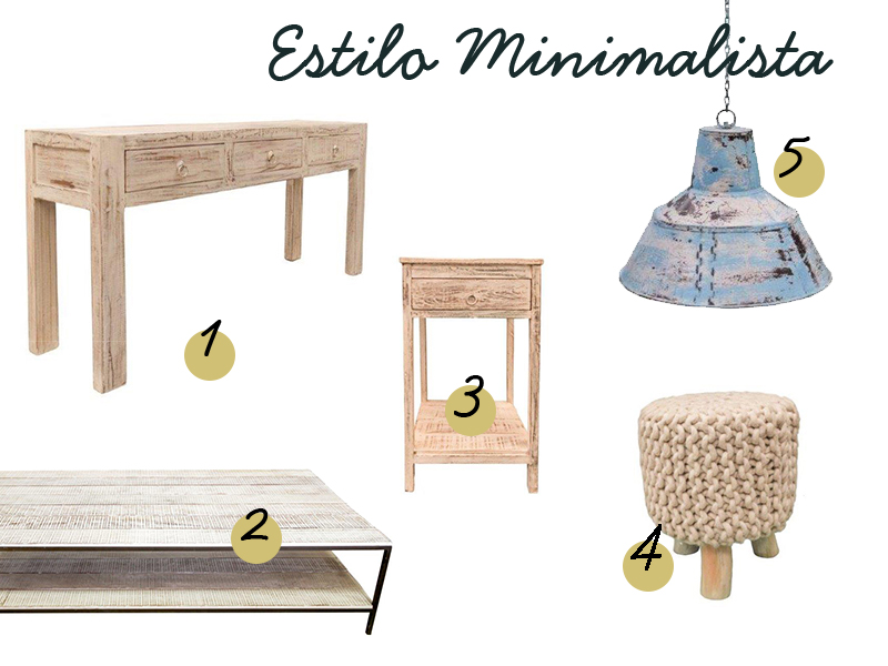 estilo minimalista tendencia decorativa en 2018