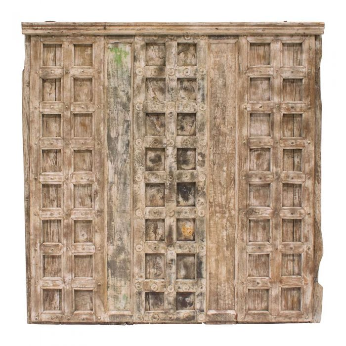 Cabecero puerta antigua