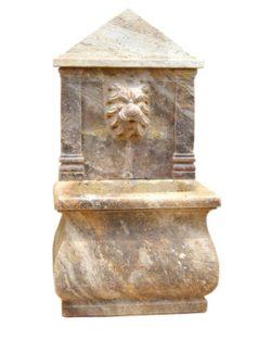 pilar de mármol decoración