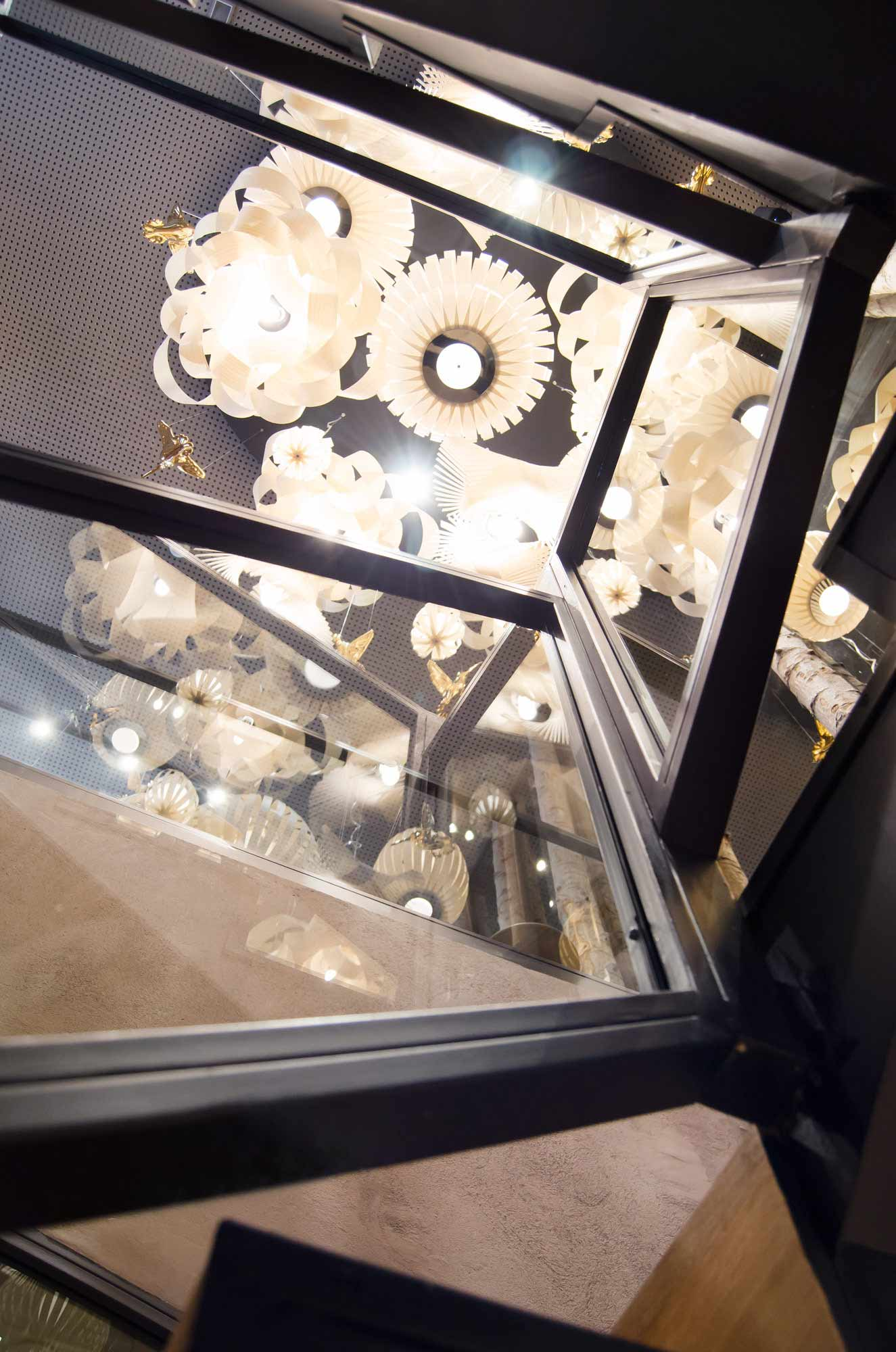 Estructura escaleras metal