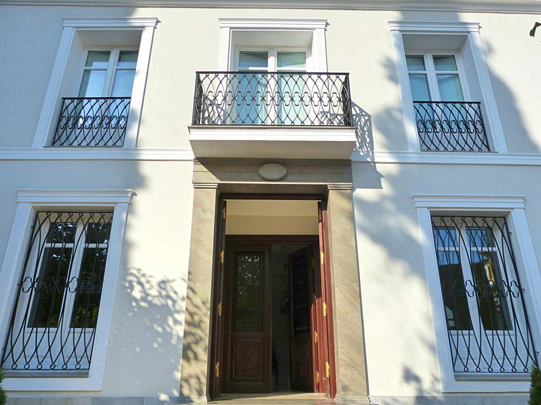 Rejas y balcones forja