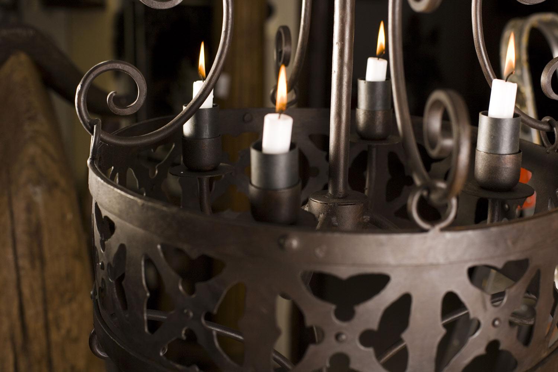 Lámpara forja