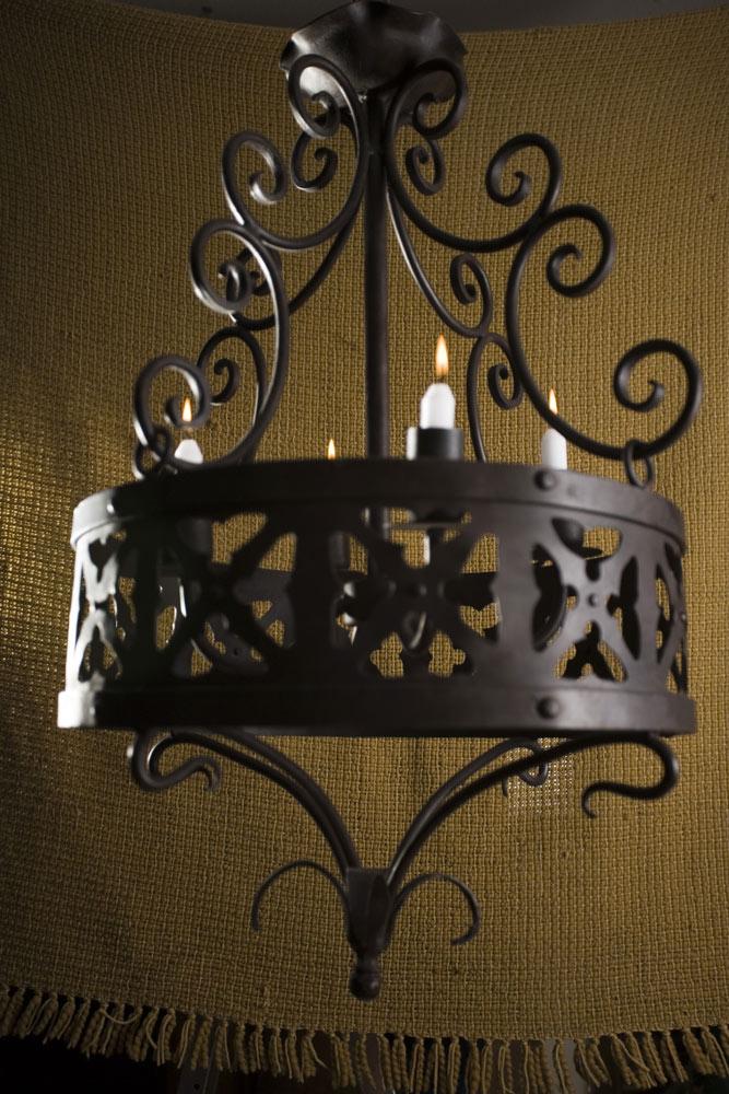 Lámpara hierro