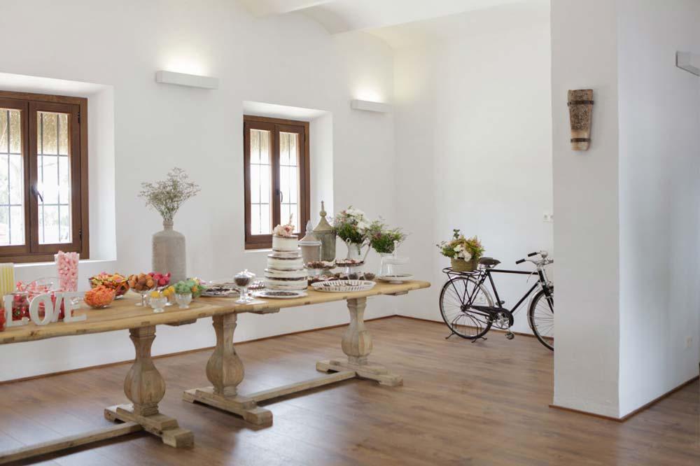 mesas de madera Conely