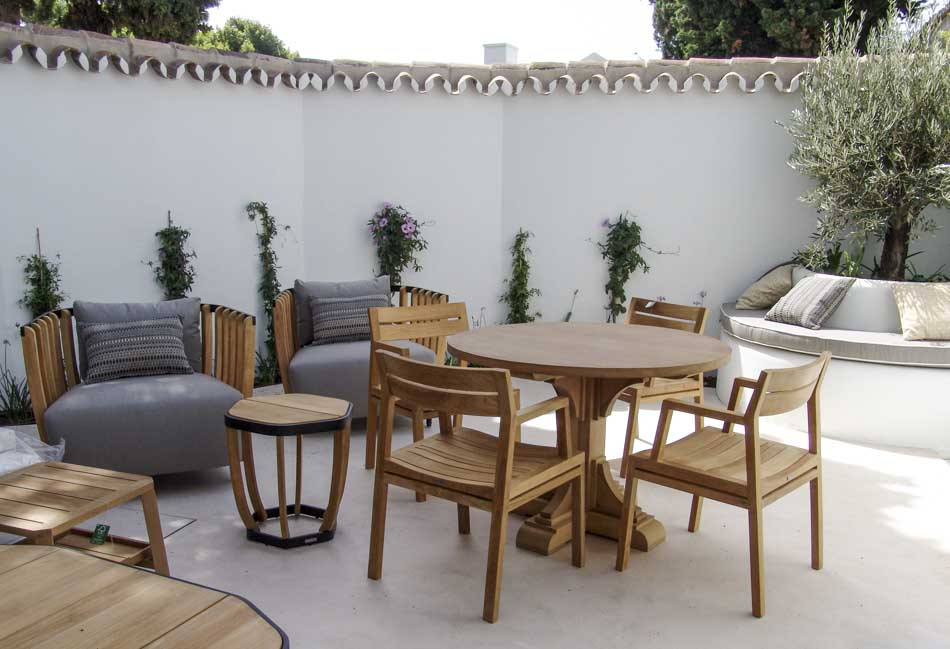 Mobiliario terraza