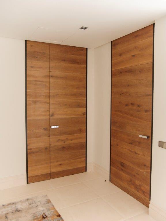 Puertas de madera diseño