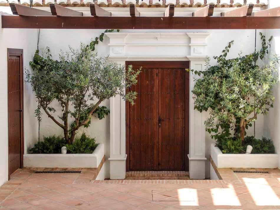 Puerta rústica exterior