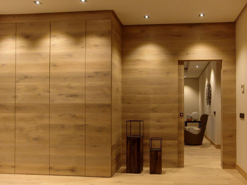 Puerta madera nórdica