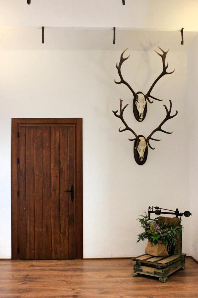 Puerta rústica madera