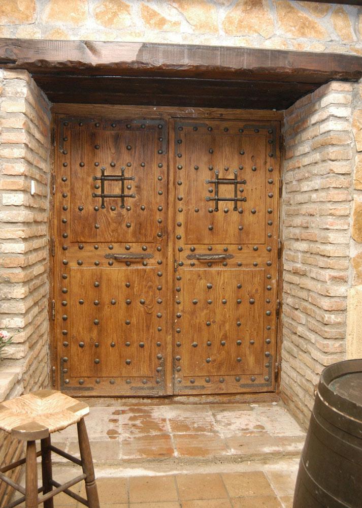 Puertas De Madera Antiguas Interior Y Exterior Conely