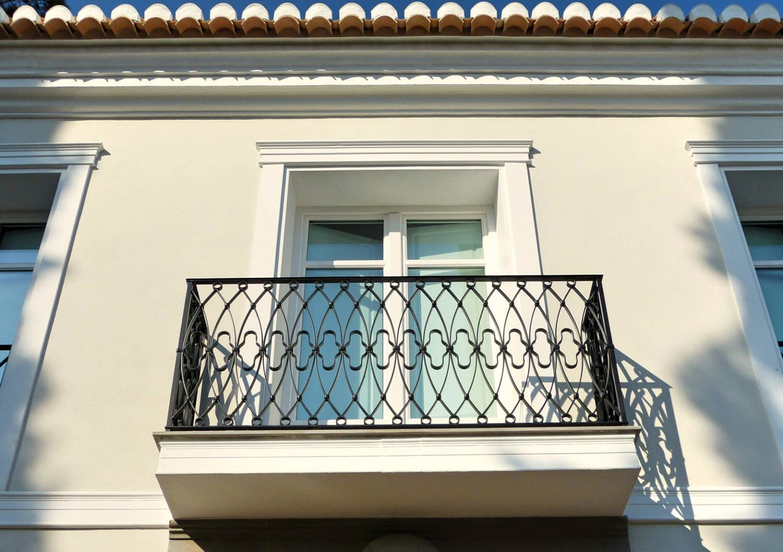 Balcón forja
