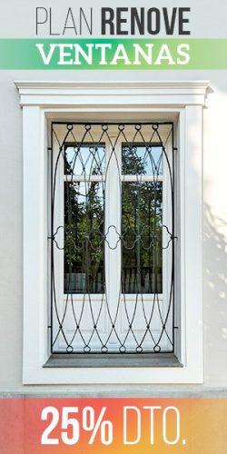 Plan renove de ventanas Conely
