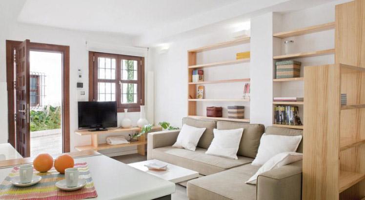 Salón apartamento Smart Suites