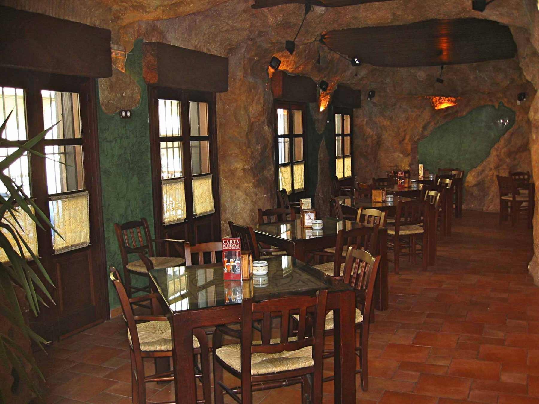 Bar estilo cueva