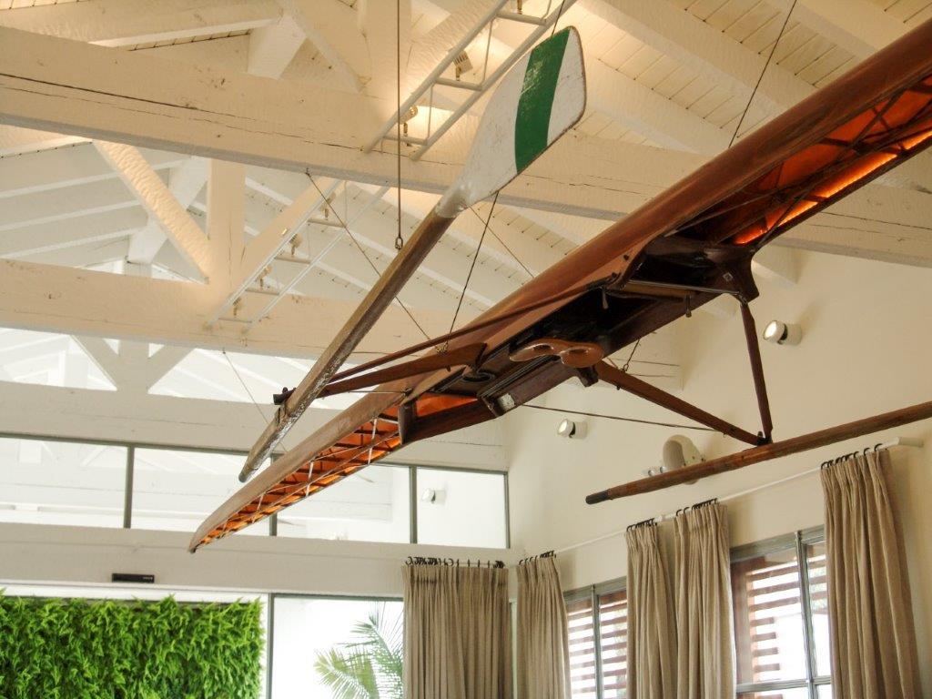 Canoa decorativa