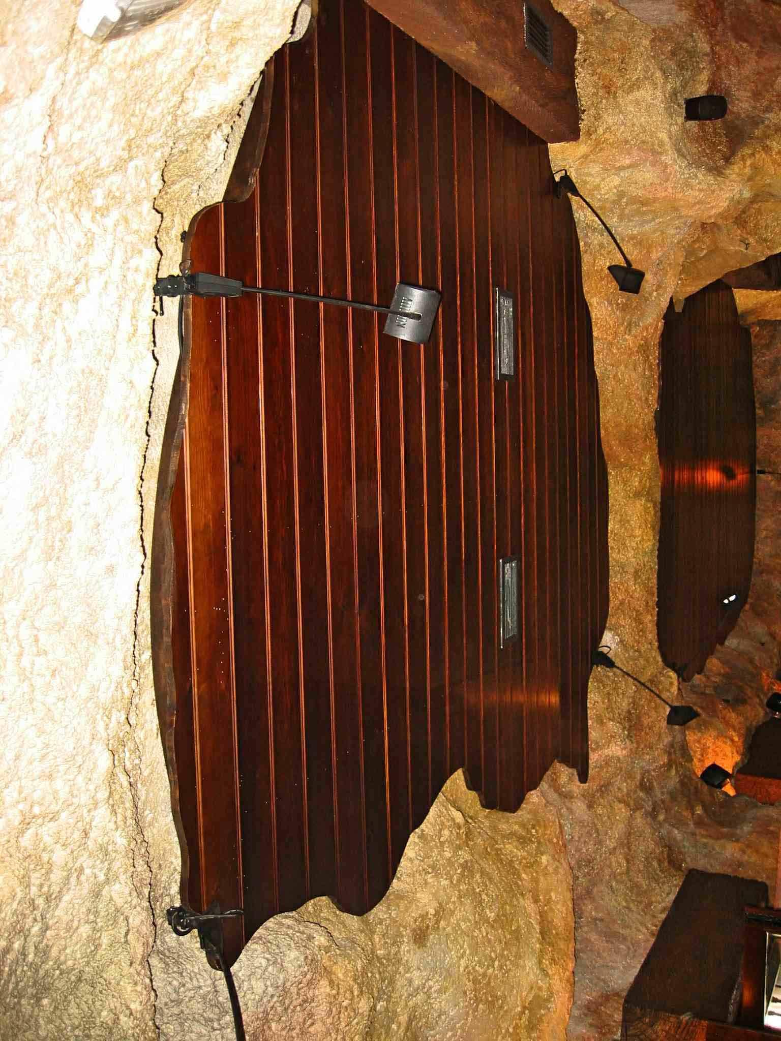 Contraventana interior de madera