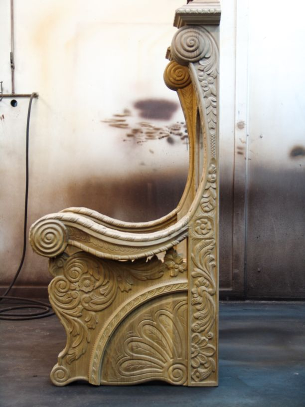 Detalles de madera tallada Conely
