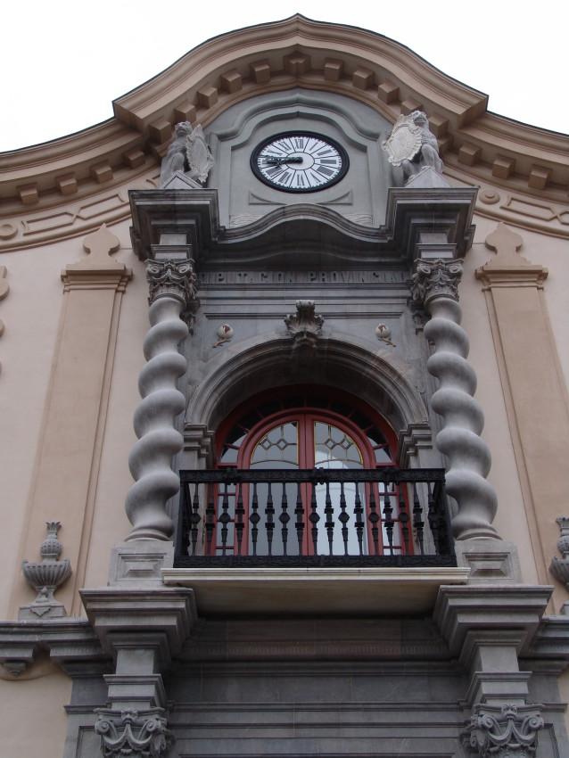Fachada de edificio antiguo