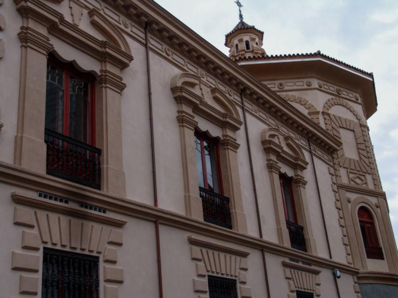 Fachada palacio Bibataubín