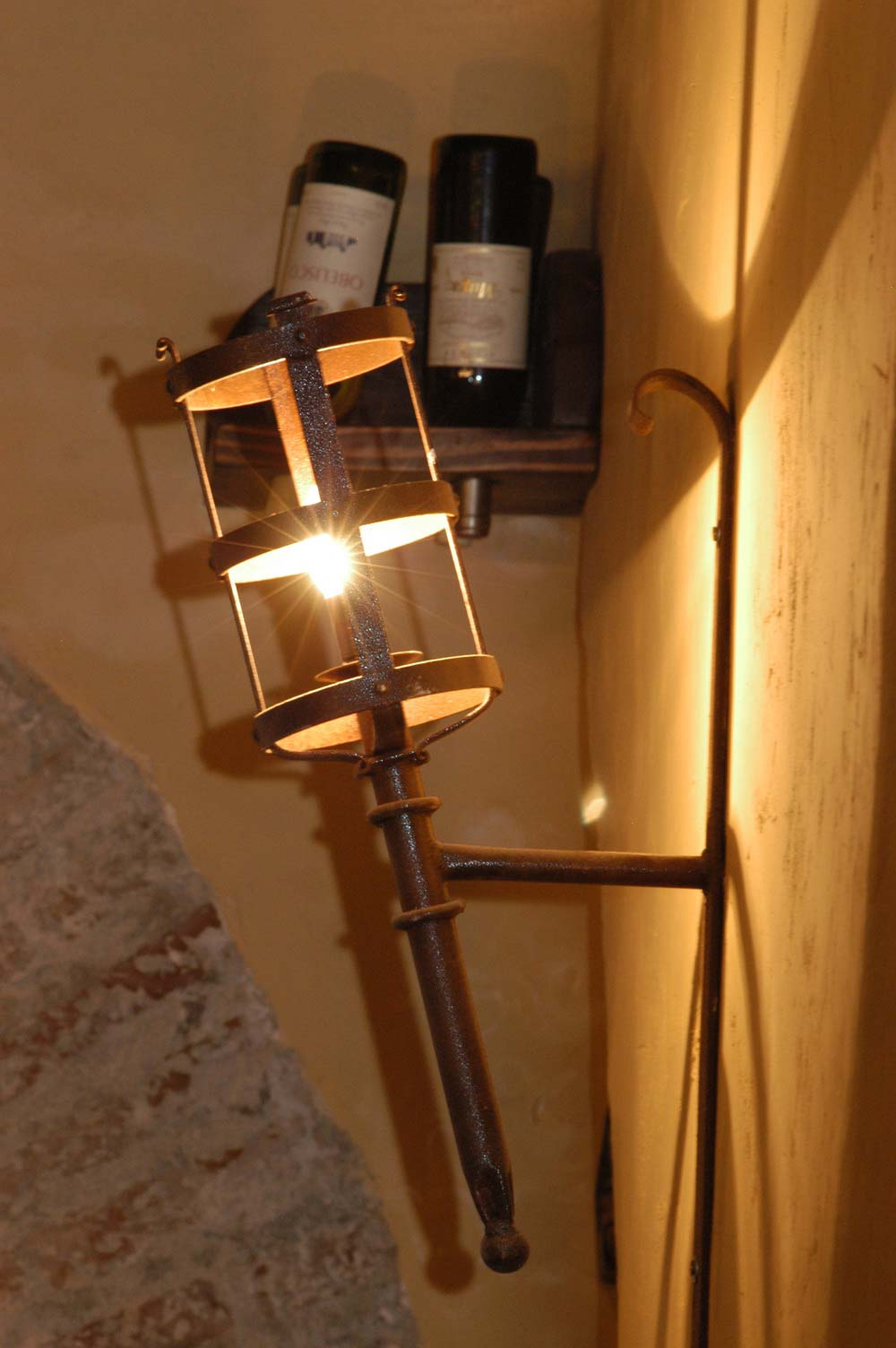 Iluminación en forja