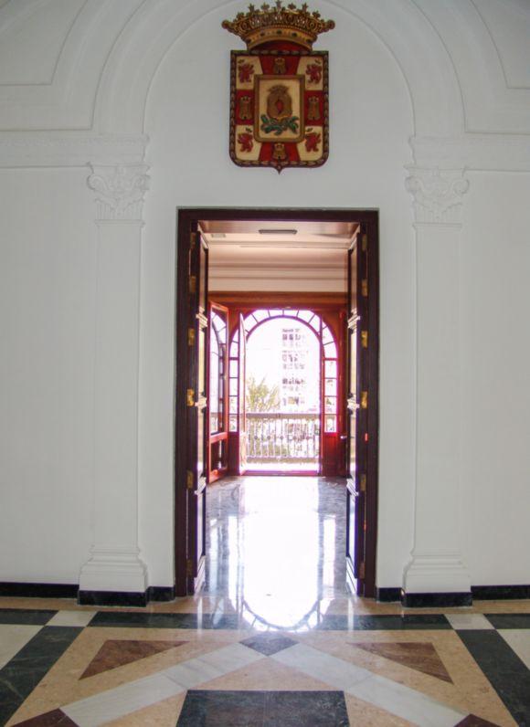 Interior edificio restaurado