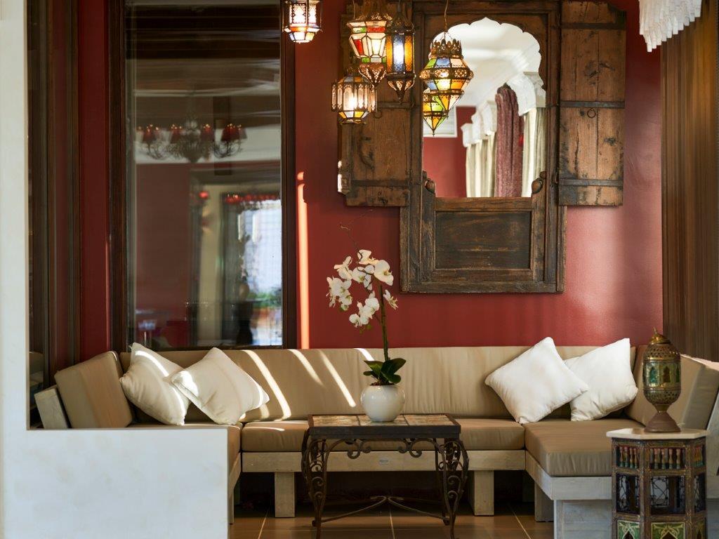 Salón estilo marroquí