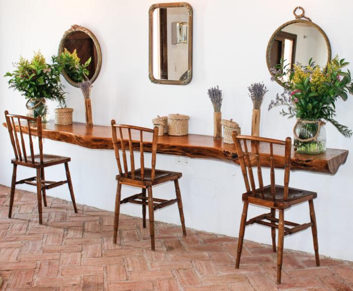 Ambiente vintage espejos