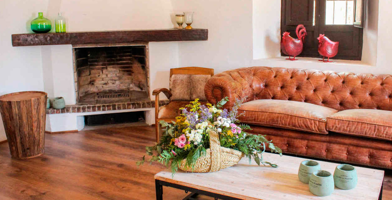 Ambiente decoración rústica