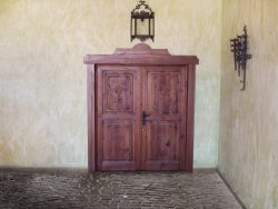 Puerta doble hoja exterior