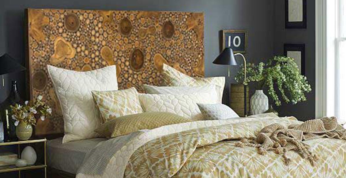 Decoración de dormitorio con cabecero
