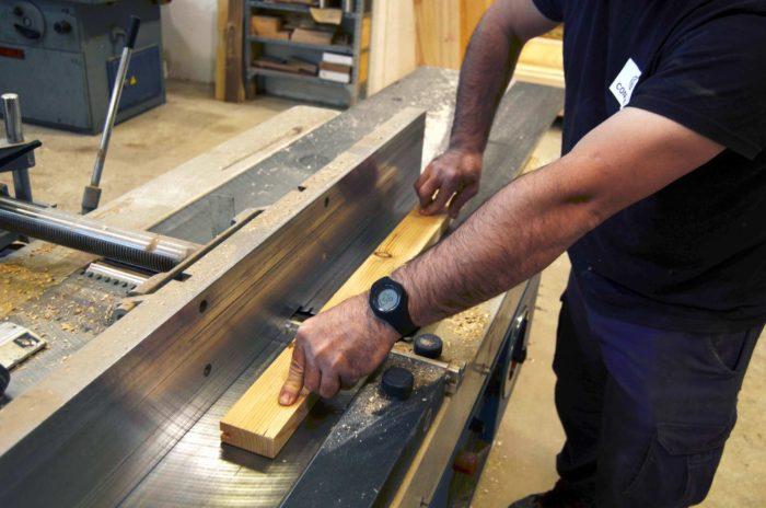 Proceso fabricación ventana de madera