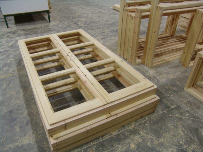 Proceso fabricación ventanas en madera