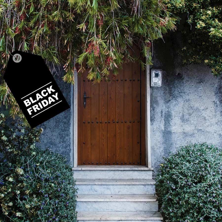 Puertas de madera Black Friday