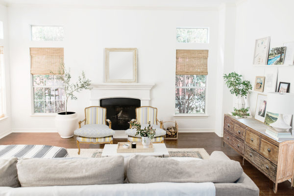 Decorar un mueble de salón